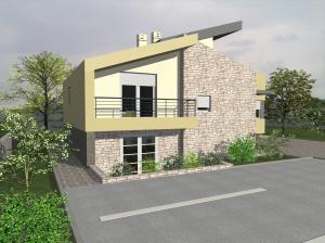 Obiteljska kuća Tinj 3D 02