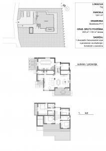 Obiteljska kuća Tinj Prezentacija NACRTI