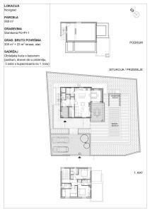 Obiteljska kuća Novigrad Nacrti prezentacija