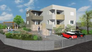Ražanac - obiteljska kuća s apartmanima - SI
