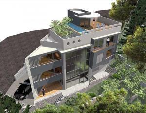 Krovna terasa s bazenom